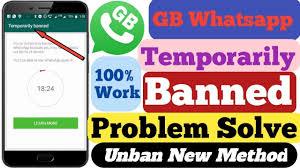 unban method in gbwhatsapp apk.