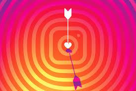 instagram apk- arrow heart illustration
