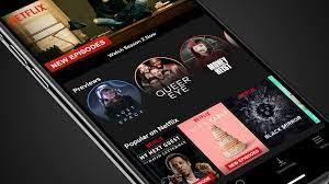 Netflix mod apk - as seen on phone screen