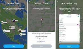 find your friends in snapchat