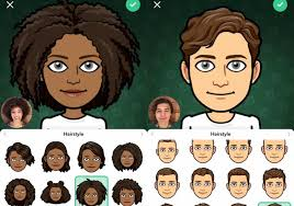 customize your avatar in snapchat.