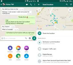Whatsapp Apk - location functionality depiction