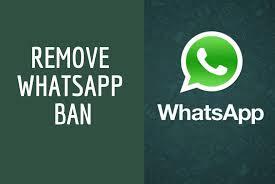 remove whatsapp ban easily.