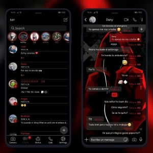chat customization with themes in FMWhatsapp
