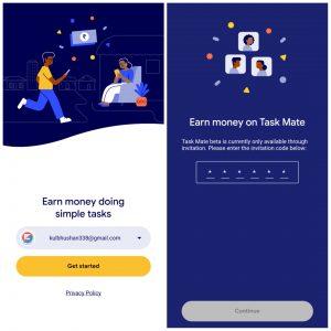 task mate apk - home screen