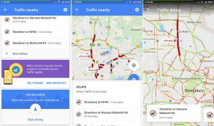 Google Maps apk- see traffic nearby