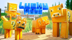 lucky moos in minecraft.