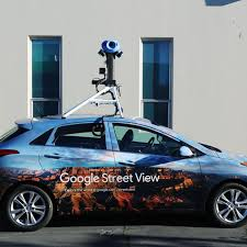 google street view car.