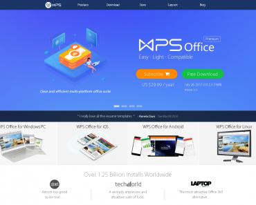 WPS office mod apk premium for free.