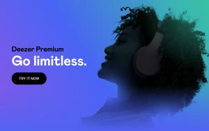 go limitless with Deezer premium