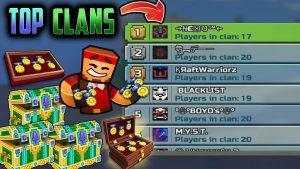 pixel gun mod apk - clan system