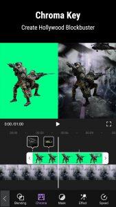 chroma key with ninja mod