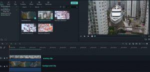 pc version has professional video editing tools.