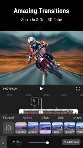 amazing transitions in motion ninja