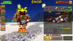 shop guns and more in the game.