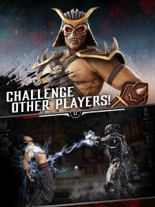 Mortal kombat mod apk- challenge other players.