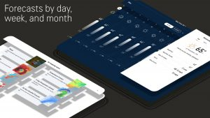 forecast by day, week and month in Accuweather mod apk