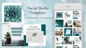 canva mod apk has social media templates,