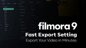 Filmora Go Mod Apk - fast export settings, export your video in minutes.