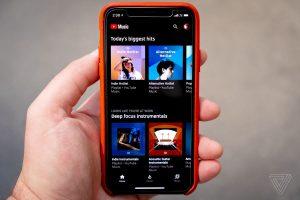 youtube music mod apk -look inside the phone.