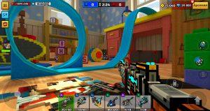 pixel gun mod apk - playground