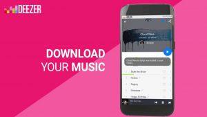 download your music - Deezer mod apk