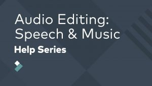 audio editing speech and music - help series in Filmora Go Mod Apk