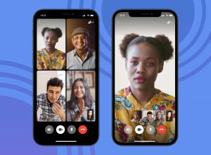 how video chattng looks like in Signal Mod Apk