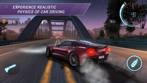 experience realistic physics of car driving.