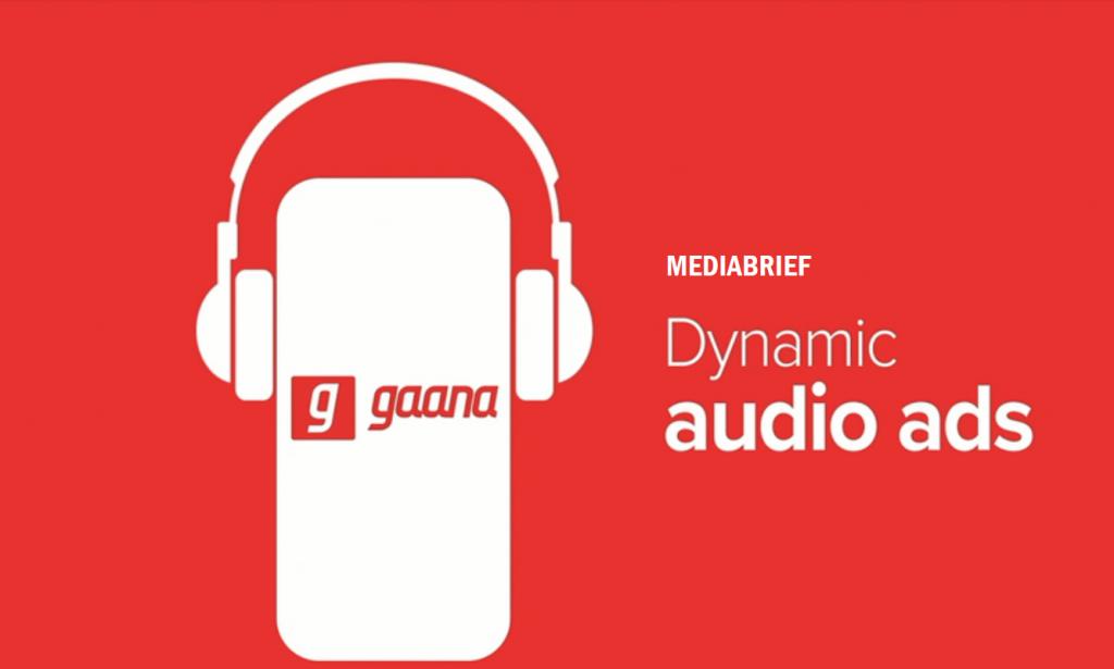 gaana mod apk has dynamic audio ads.