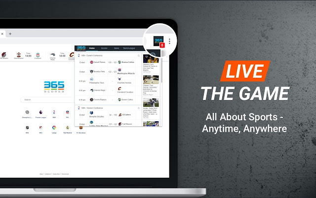 this app is all about sports, anytime and anywhere.