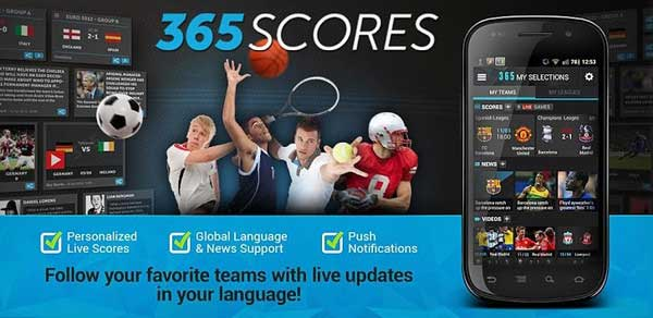 follow your favourite teams with live updates in your language.