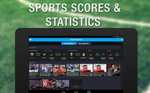 see sports scores and statistics.