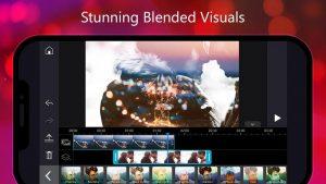 stunning blended visuals in powerdirector