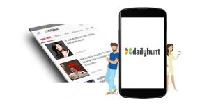 dailhunt app is for android and shows news and latest opinions.