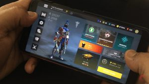 gameview on homescreen