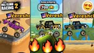 Hill climb racing 2 - screenshots of gameplay.