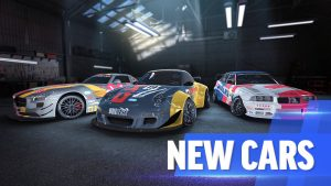 new cars in racing game