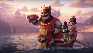 clash royale mod apk cover image.
