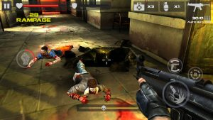 go rampageing in the latest game mod with guns, and blood