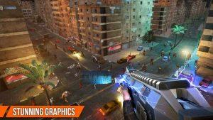 Dead target mod apk has stunning graphics.