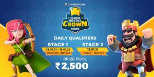 clash royale crown series in the latest version