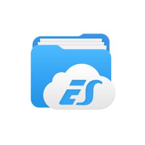 ES file explorer mod apk blue icon and thumbnail