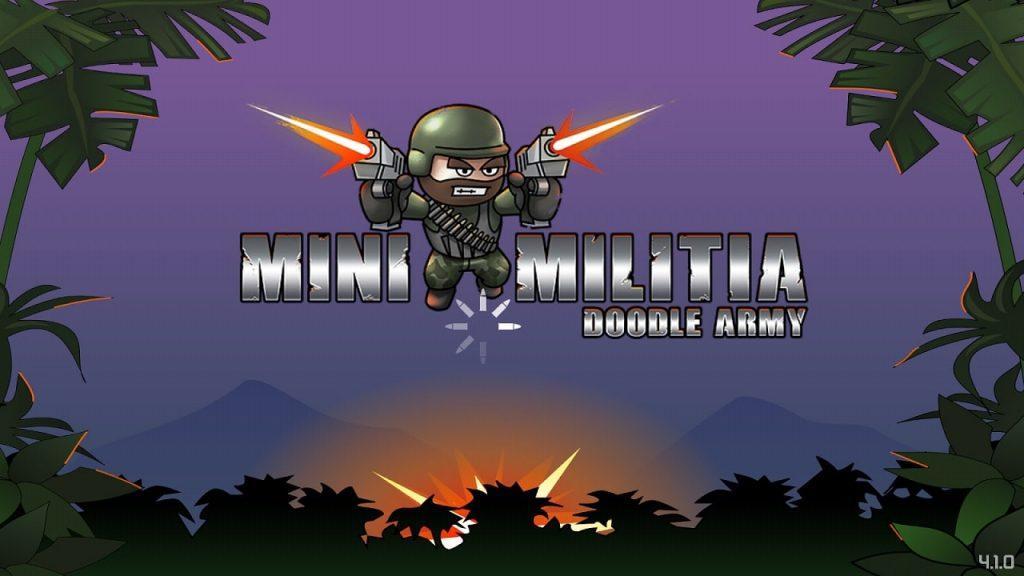 Mini Militia starting SCREEN