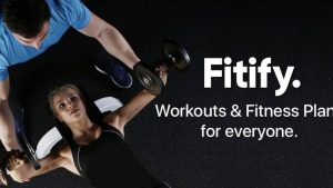 fitify is an workout and fitness plan apk, black color