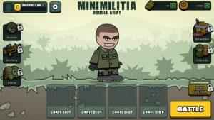 Mini Militia home page