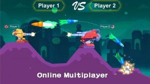 tank stars mod apk supports online multiplayer