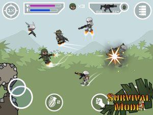 Mini Militia survival mode