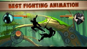 best fighting animation in shadow fight 2 mod