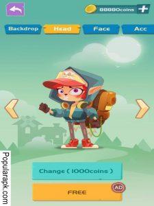 backdrop, head, face, acc, free app on taptap apk